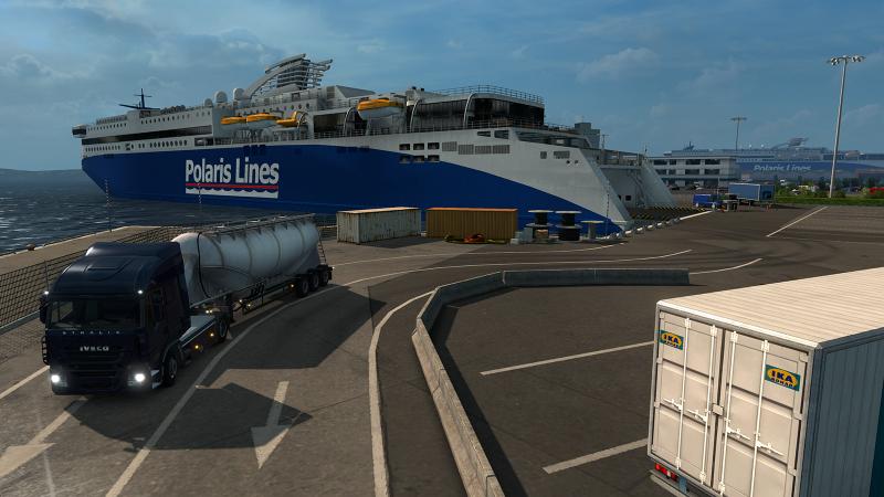 Euro Truck Simulator Hafen