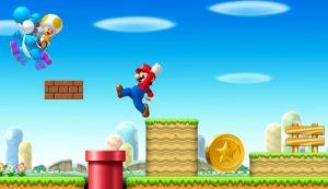 Super Mario links