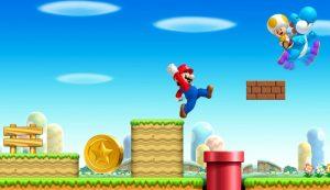 Super Mario rechts