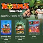 96% günstiger: Die Worms-Spiele gibt's gerade als Super-Schnäppchen