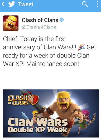 CoC Double Clan EP