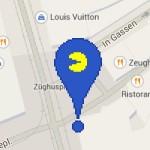 Pac-Man macht die Straßen auf Google-Maps unsicher