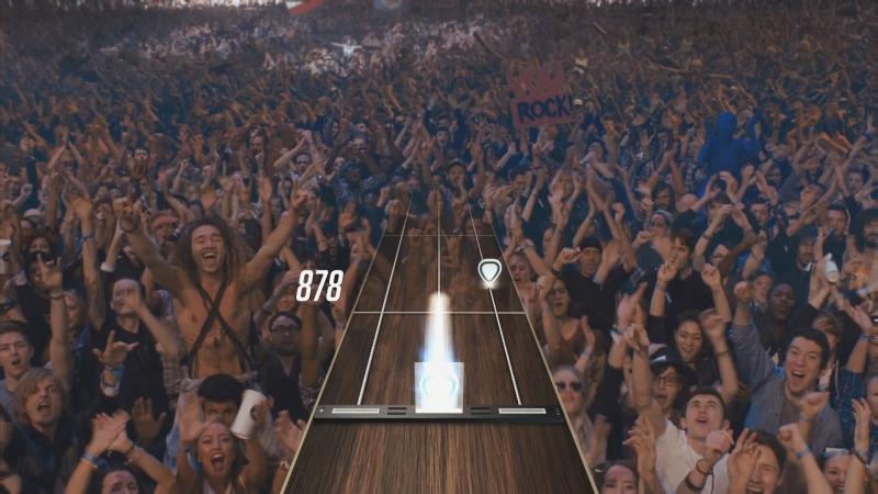 Guitar Hero Live Publikum