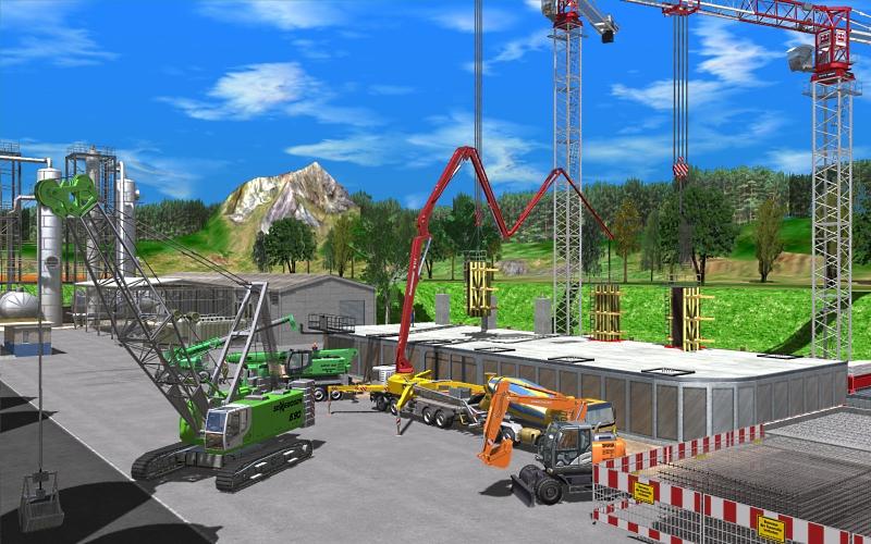 Conworld der Baustellen Simulator