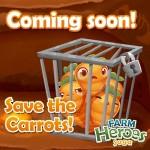 Farm Heroes Saga: Kaninchen Rob treibt sein Unwesen