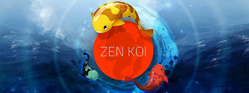 Zen Koi Fische züchten