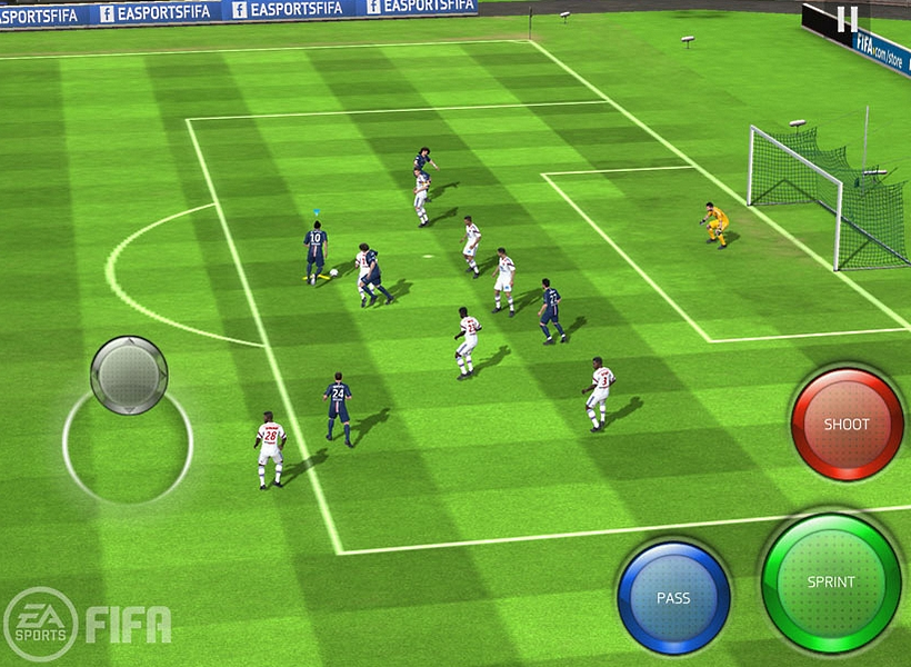 Fifa Mobile Screen
