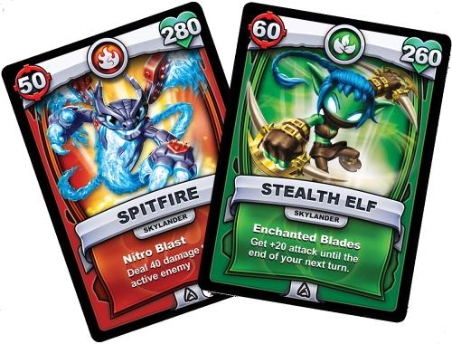 Skylanders Battlecast Karten