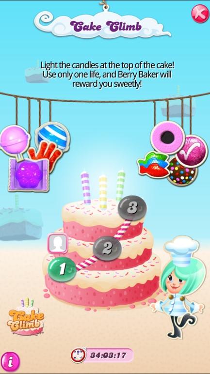 Candy Crush CakeClimb