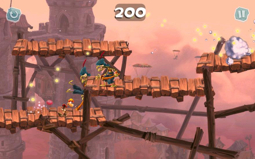 In Rayman Adventures werden eine tolle Optik mit viel Spielspaß gepaart.