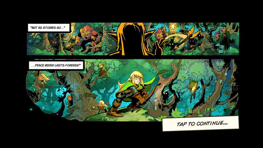 Das Artwork ist wieder sehr gelungen. Auch die kleine Geschichte im Comic Stil gefällt uns wieder sehr.