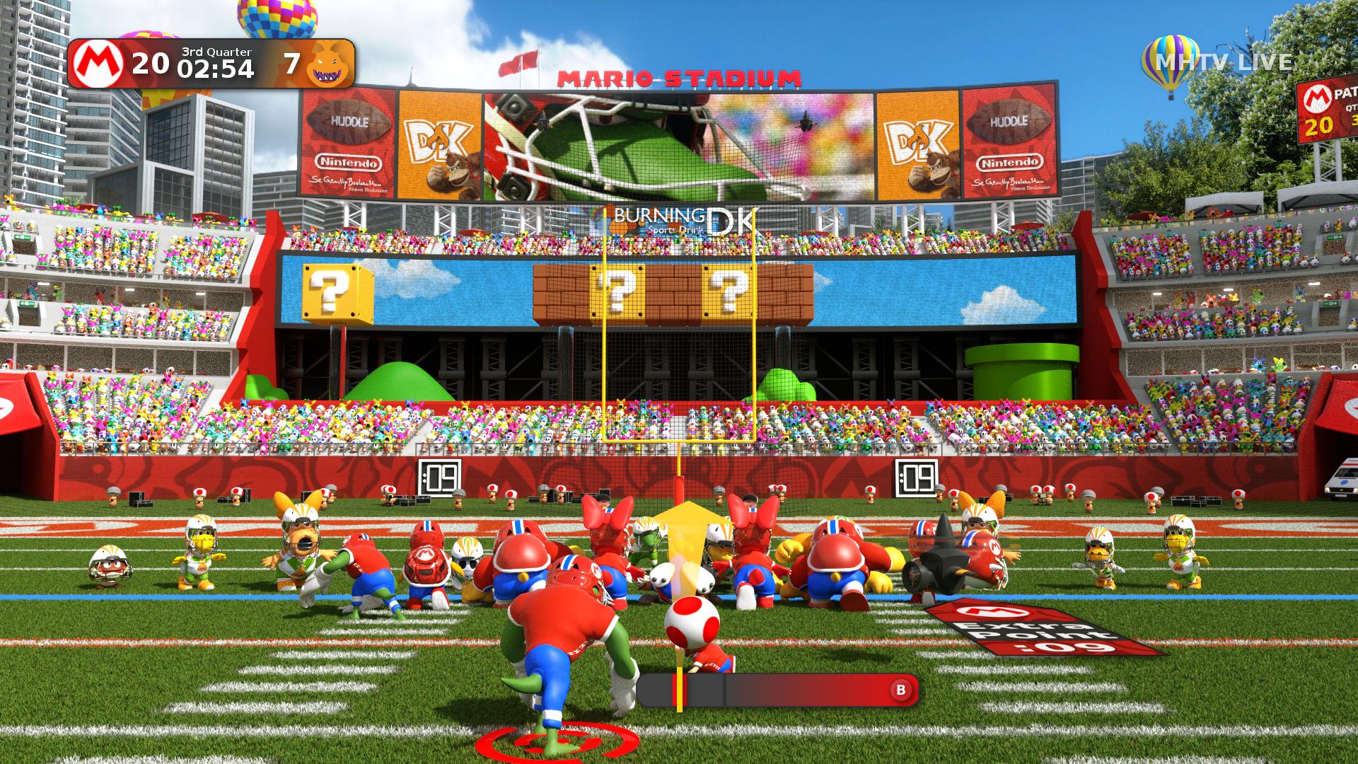 super mario football 3