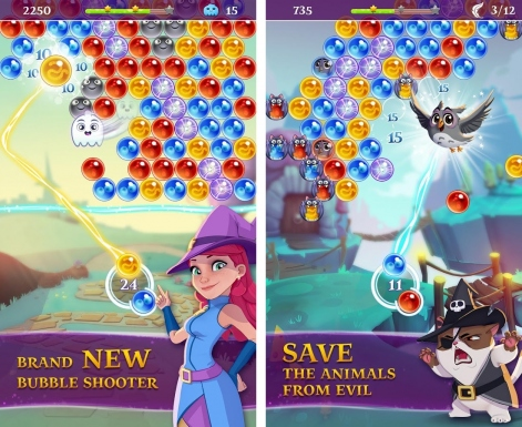 bubble wicth saga 3 screenshot
