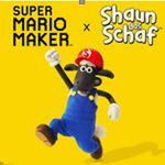 Super Mario Maker trifft auf Shaun das Schaf