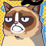 Die Grumpy Cat bekam ein echt übles Spiel spendiert