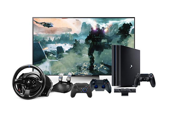 playstation 4 pro 4k fernseher spiele und mehr zu. Black Bedroom Furniture Sets. Home Design Ideas