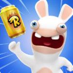 Rabbids Crazy Rush: Lass' die Hasen rennen & fliegen!