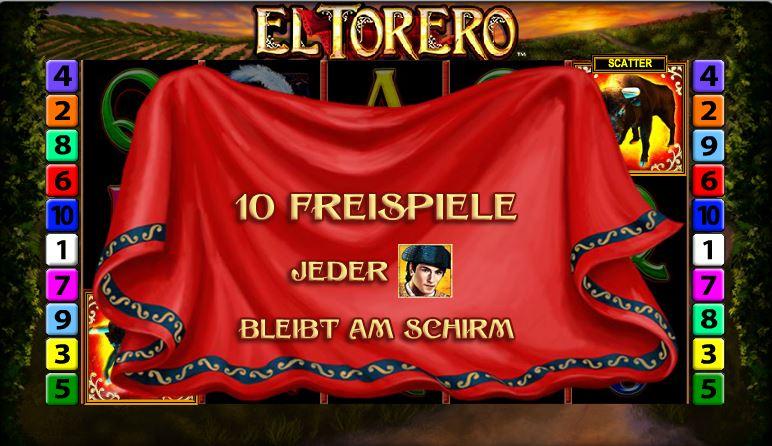 El-Torero-Freispiele