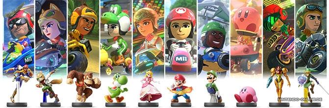 Mario Kart 8 Deluxe amiibo