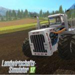 Der größte Traktor der Welt im Landwirtschafts-Simulator 17