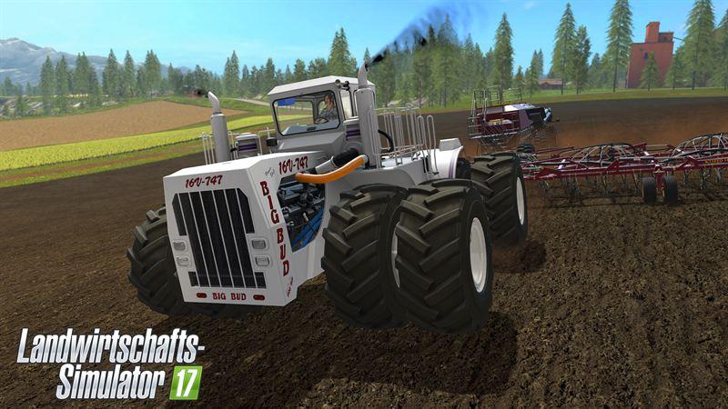 Big Bud 747 >> Der größte Traktor der Welt im Landwirtschafts-Simulator ...