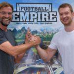 Jürgen Klopp unterstützt Fußballmanager Football Empire