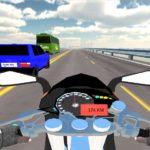 Autobahn Motorrad Rennen: Rase online über den Highway
