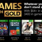 Games with Gold: Diese Spiele gibt es im Juli 2018 gratis