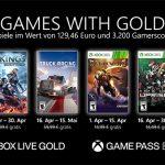Games with Gold: Diese Spiele gibt es im April 2021 gratis